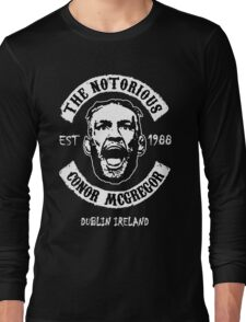 Conor Mcgregor (Printed On Front) Long Sleeve T-Shirt
