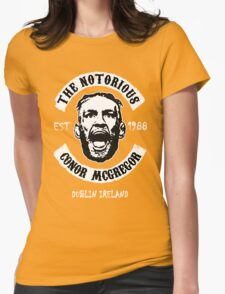 Conor Mcgregor (Printed On Front) Womens Fitted T-Shirt