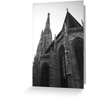 Austria - Vienna Saint Stephens Cathedral  Greeting Card