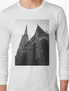 Austria - Vienna Saint Stephens Cathedral  Long Sleeve T-Shirt