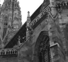 Austria - Vienna Saint Stephens Cathedral  Sticker