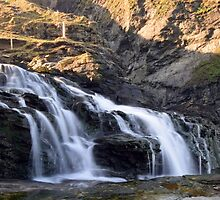 Cornwall: Waterfall at Jacket's Point by Rob Parsons