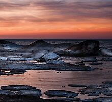 Ice Dunes by Gaby Swanson  Photography
