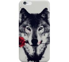 Wolf Abstract iPhone Case/Skin