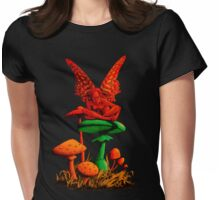 The Land of Nasadishtra (red/green mix) Womens Fitted T-Shirt