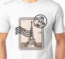 Paris Stamp Unisex T-Shirt