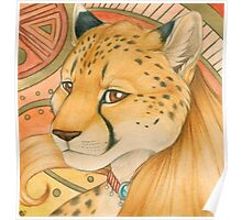 Golden Cheetah Poster