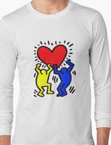 KEITH HARING Long Sleeve T-Shirt