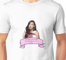 Santana Glee Quote Unisex T-Shirt