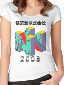 nintendo 2003 Women's Fitted Scoop T-Shirt