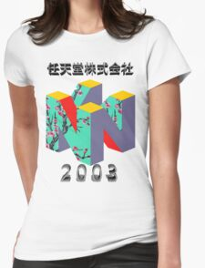 nintendo 2003 Womens Fitted T-Shirt