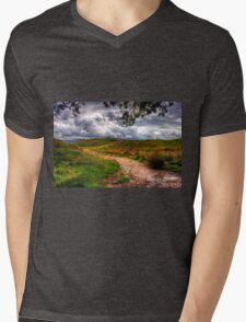 Autumn in Lake District Mens V-Neck T-Shirt