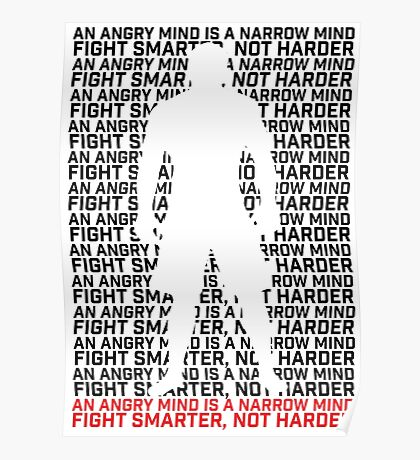 MMA Fight Smarter, Not Harder Poster