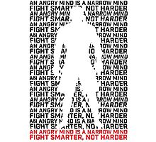 MMA Fight Smarter, Not Harder Photographic Print