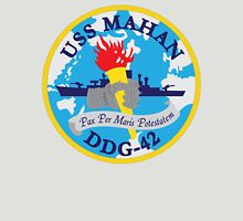USS Mahan (DDG-42) Navy Patch Unisex T-Shirt