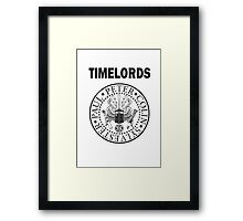 Time Lords 2 Framed Print