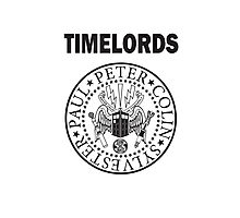 Time Lords 2 Photographic Print