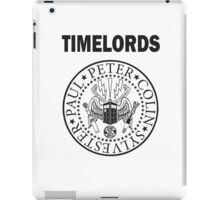 Time Lords 2 iPad Case/Skin