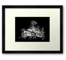 Night Falls Framed Print