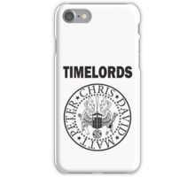 Time Lords 3 iPhone Case/Skin