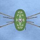 Celtic Shield and Spears by Richard Fay