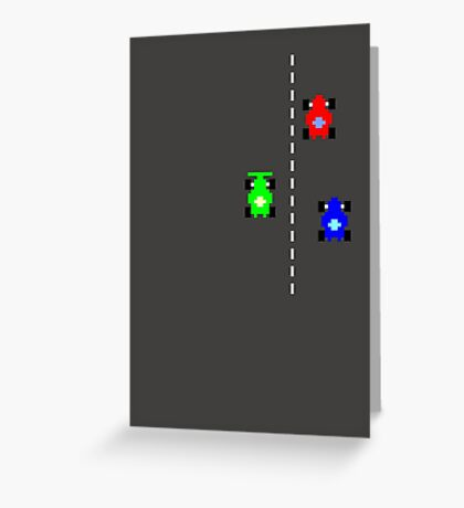C64 Le Mans Greeting Card
