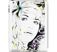 Girl In Graphic iPad Case/Skin