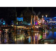 Cardiff at Christmas Photographic Print
