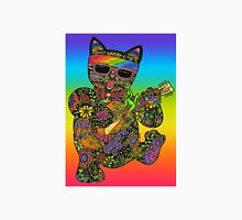 Cool Lucky Black Cat  Mens V-Neck T-Shirt