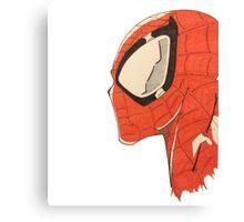 Spiderman's Profile Canvas Print
