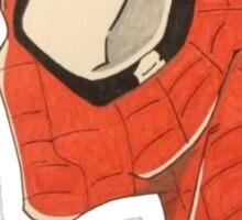 Spiderman's Profile Sticker