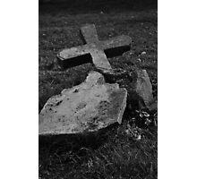 Fallen Cross Photographic Print