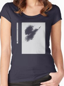 Invisible brush? Women's Fitted Scoop T-Shirt