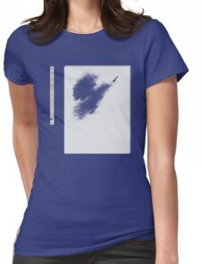 Invisible brush? Womens Fitted T-Shirt