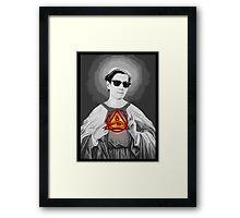 Holy Doc Hammer Framed Print
