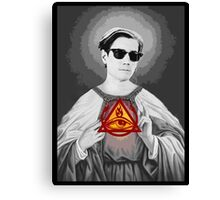 Holy Doc Hammer Canvas Print