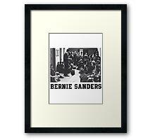 Bernie Goes Punk Framed Print