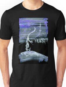 0039 - Brush and Ink - Lamp Lighting Unisex T-Shirt