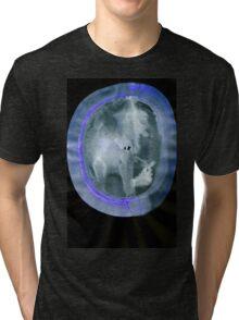 0034 - Brush and Ink - Circular Compression Tri-blend T-Shirt