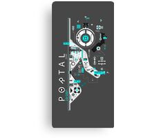 Portal Love Canvas Print