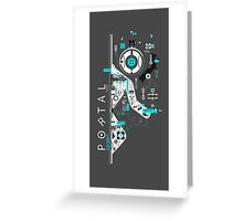 Portal Love Greeting Card
