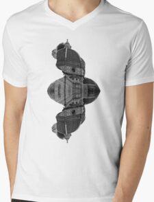 Architecture Portrait Mens V-Neck T-Shirt