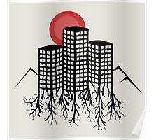 Skyline Trees Poster