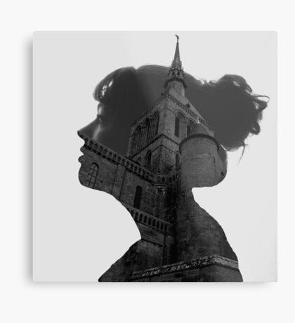 Architecture Portrait Metal Print