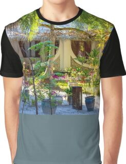 Vacation resort in the Maldives, Eden on Earth Graphic T-Shirt