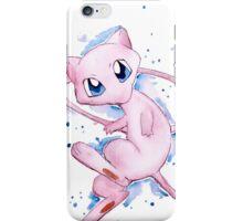 Watercolor Pokemon - Mew #151 iPhone Case/Skin