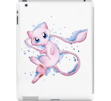 Watercolor Pokemon - Mew #151 iPad Case/Skin