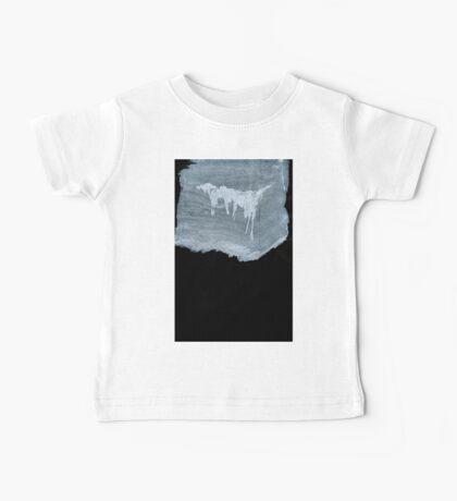 0042 - Brush and Ink - No Island is Human Baby Tee