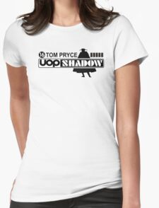 SHADOW UOP TOM PRYCE RETRO F1 Womens Fitted T-Shirt