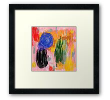 insight in a distance Framed Print